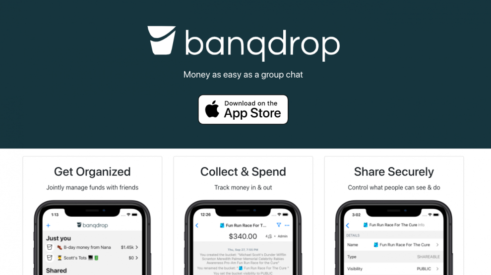 Banqdrop Website Image